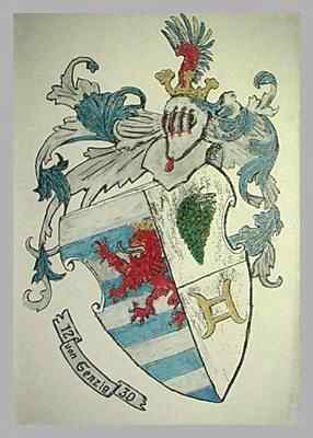 Senzig Family Coat of Arms: Click for larger view and history